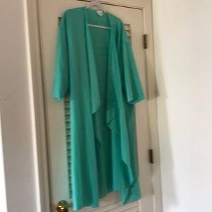 Mint Green Shirley Kimono,size L.